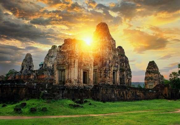 World heritage site Angor Wat, Cambodia