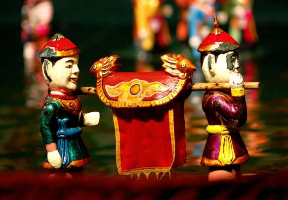 Enjoy the unique Water Puppet Show in Hanoi