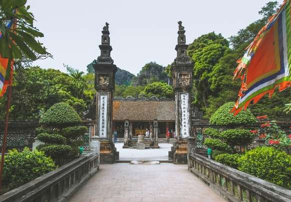 Don't miss out on this ancient capital - Hoa Lu in North Vietnam.