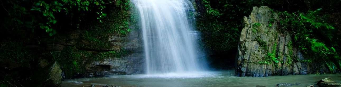 Spellbinding waterfalls in Shimla