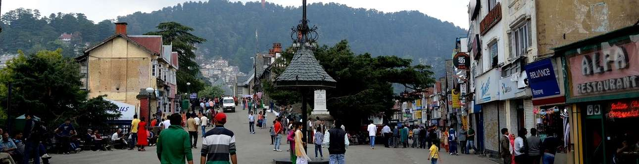 Famous point of interest in shimla