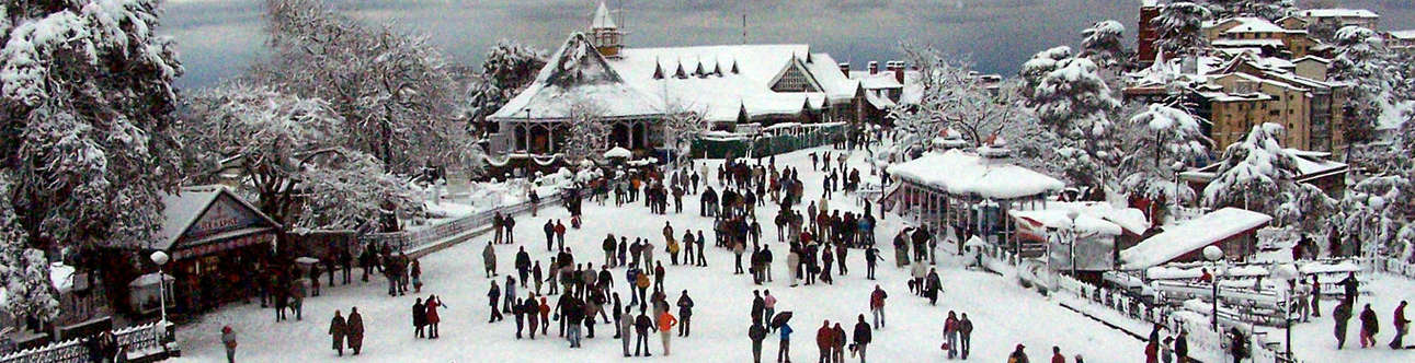 Thrilling experience of ice skating in Shimla