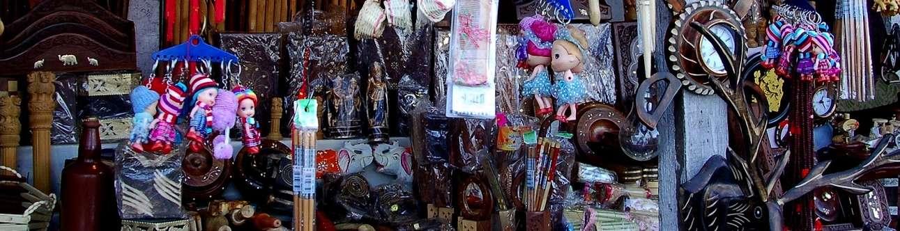 Shopping at Lakkar Bazar in Shimla