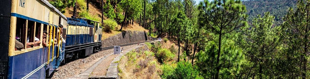 A one-of-its-kind toy train ride in Shimla