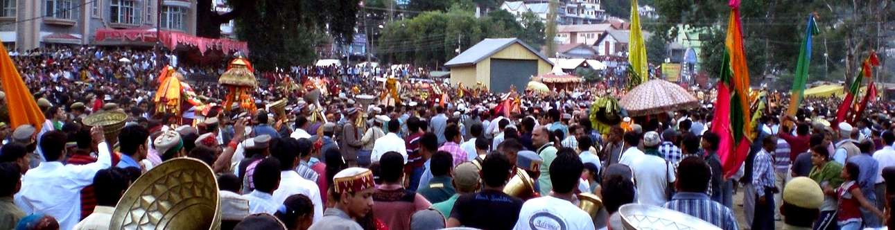 The grand summer festival in Shimla