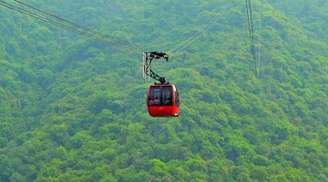 Take a delightful cable car ride at Timber Trail in Kasauli