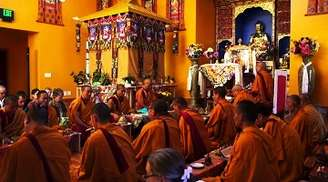 Find solace in the calm environs of Namgyal Monastery in Dharamshala