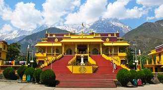 Refresh your senses at the Gyuto Monastery in Dharamshala