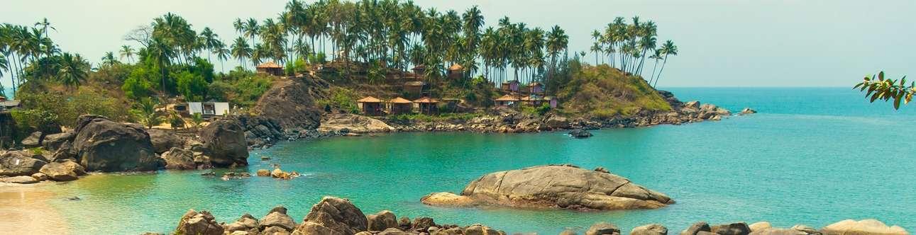 The refreshing beaches of Goa
