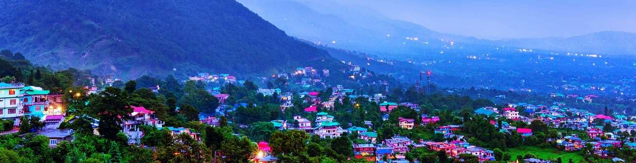 The lush and refreshing hills of Dharamshala