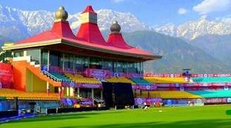 Enjoy the action at the Dharamshala Cricket Stadium