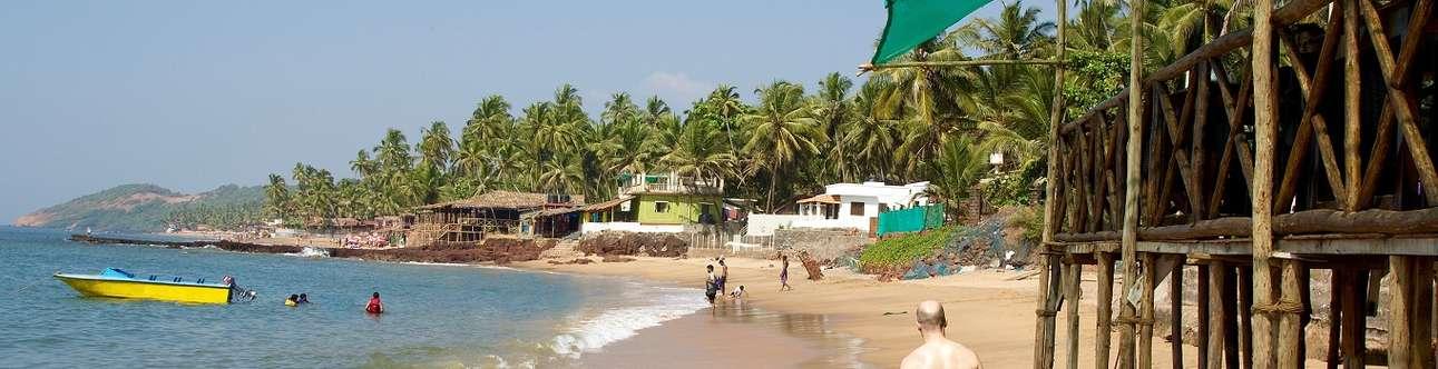 Spend some time at Anjuna Beach