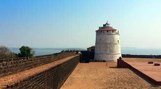 Take in the wonders of Fort Aguada