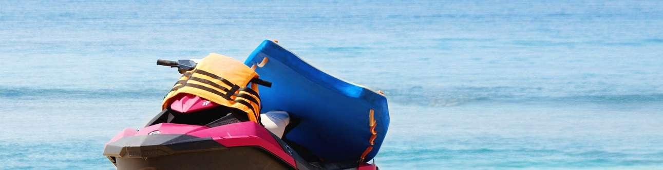 Enjoy a plethora of water sports in Goa
