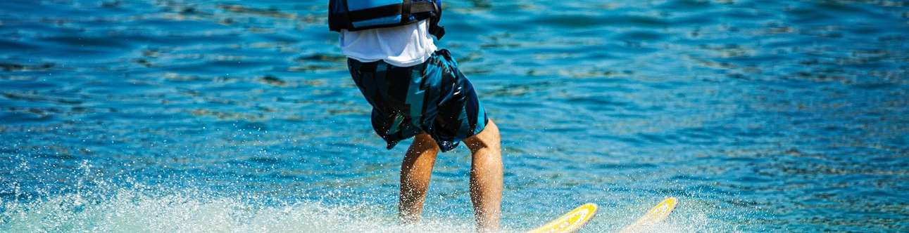 Water skiing is one of the most popular activities in Goa