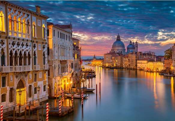 Surrender to the charisma of Grand Canal in Venice