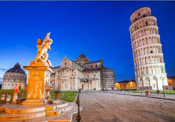 Visit one of the Seven Wonders of the World - The Leaning Tower of Pisa