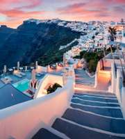 Romantic Trip To Santorini Island