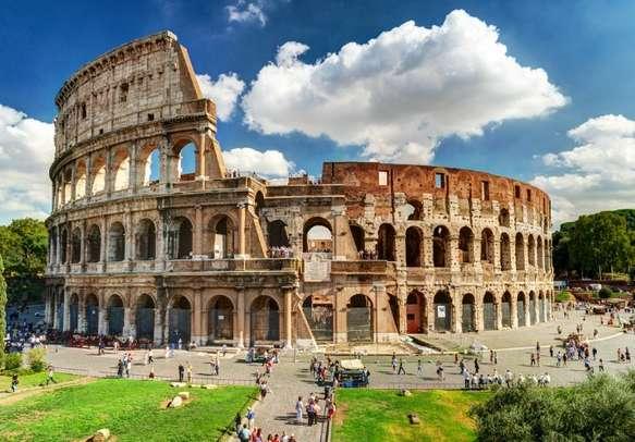 Visit the marvelous Colosseum in Rome