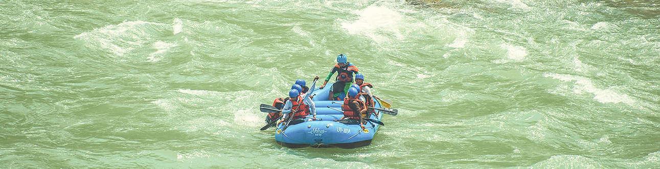 Enjoy one of the most adventurous activities of Mussoorie