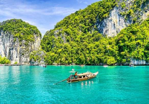 Boat at Phuket island