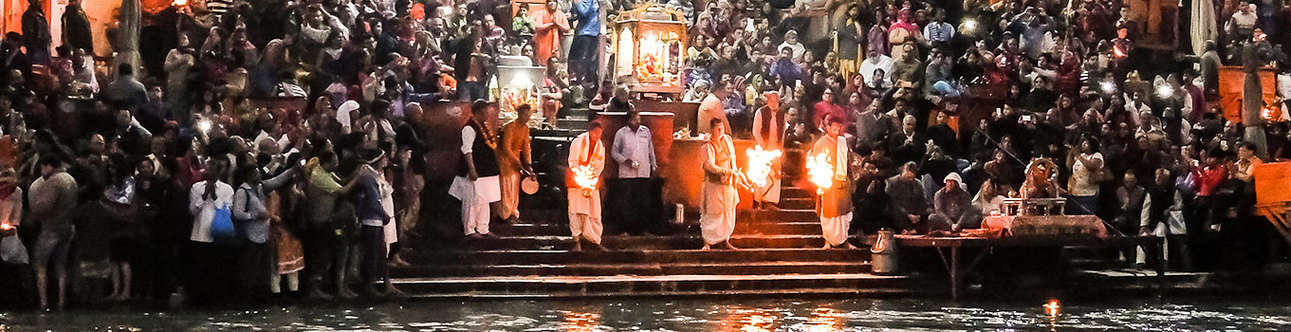 One of the famous attractions of India is Ganga Aarti in Haridwar