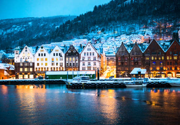 The vibrant Bergen will bowl you over