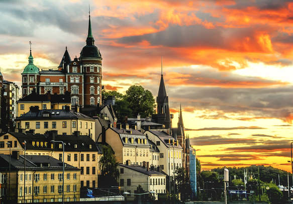 Delight in the charisma of Cityscape of Stockholm, Sweden