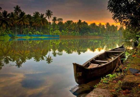 Kerala is all mainly about backwaters