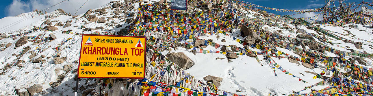 The Adventurous Khardung La Pass and its incredible views