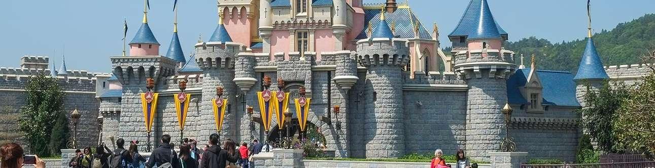 Visit the magical world of Disneyland