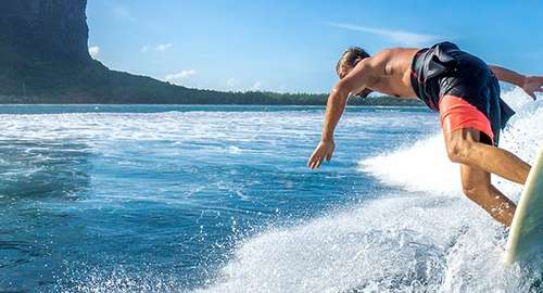 Enjoy the unique watersports in Mauritius