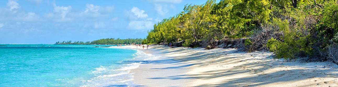 Enjoy being at the beach at Belle Mare Plage
