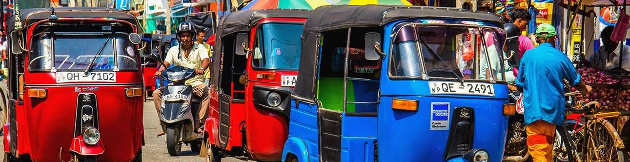 Feel at one with the city on this tuk tuk ride