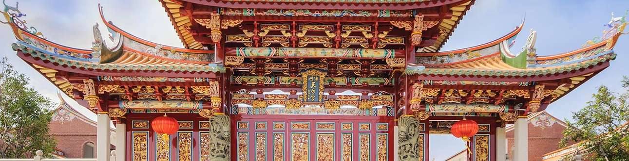 Have a serene day at the Chinese Temples