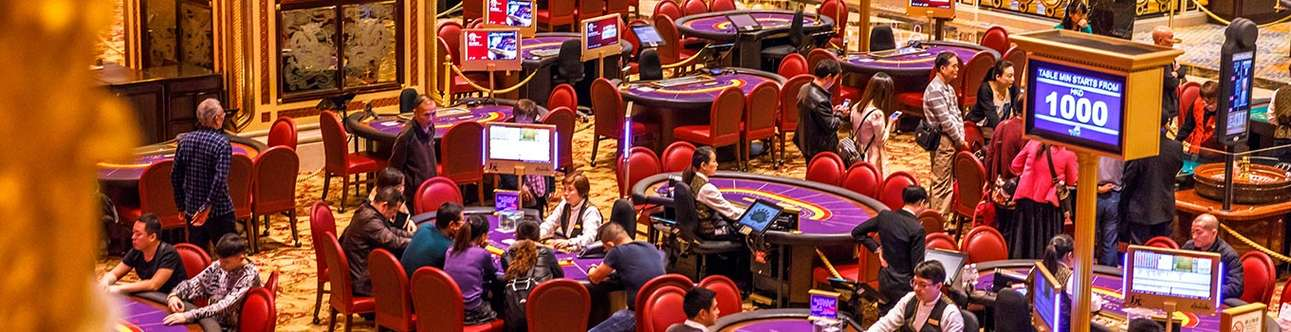 Spend some time at the casinos of Macau
