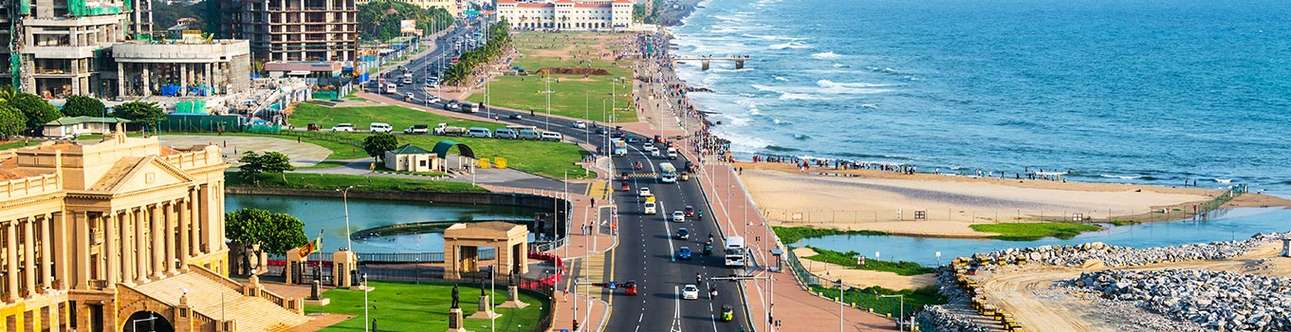 Witness the beauty of Colombo