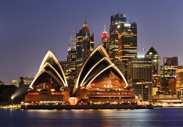 The architecture marvel, Sydney Opera House is a must-visit