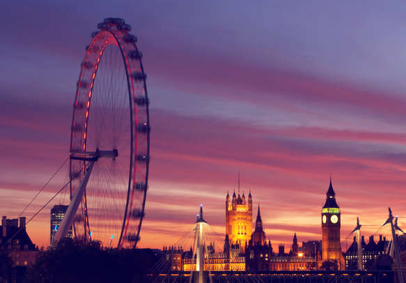 Enjoy yourself amid the beautiful in London