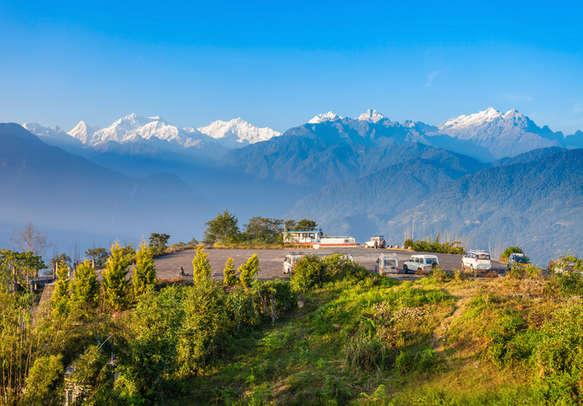 Breathtaking Kanchanjungha mountain view