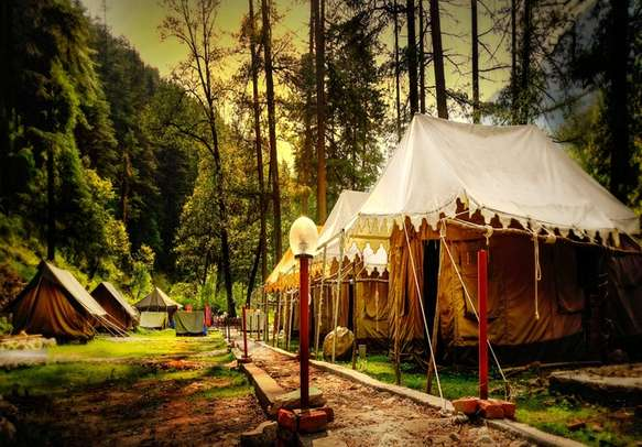 Feel mesmerized by the sounds of nature at the beautiful Kasol Valley