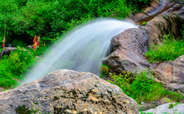 Waterfalls in Parvati valley