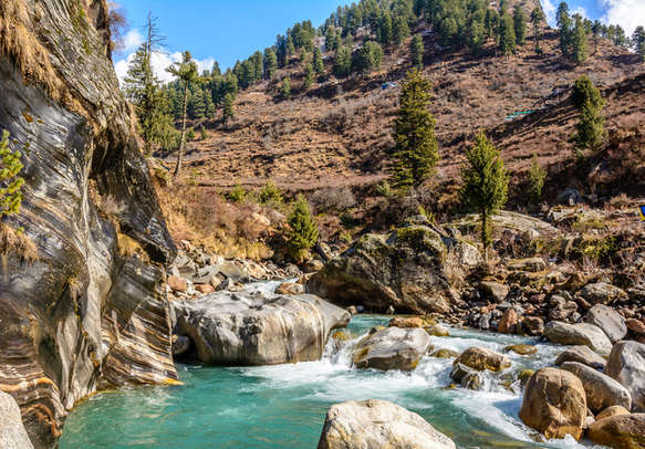 Glacial rivers to charm you on the way