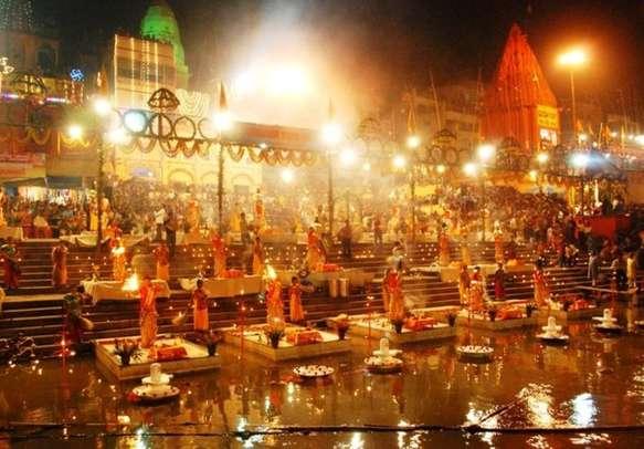 Spiritual evening Ganga aarti not to be missed