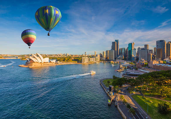 Get welcomed by the charming city of Sydney