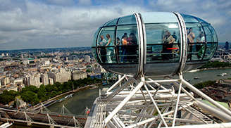 Get to see a unique view of London