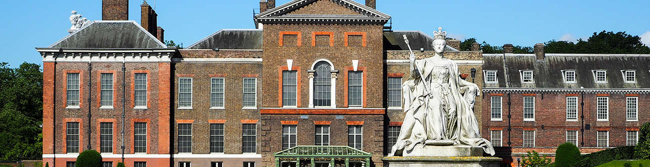 Historical Royal palace in London