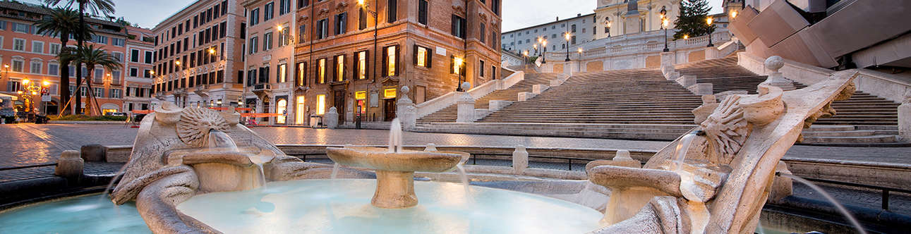 Enjoy some good times at the Spanish Steps