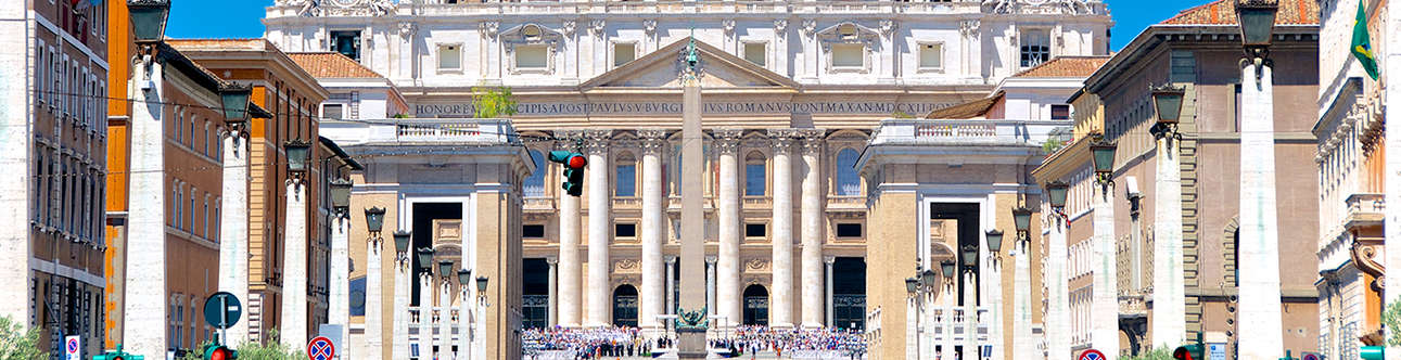 Explore the St. Peter's Basilica