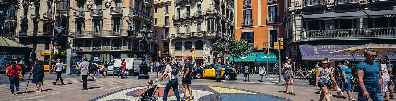 Walk the street of Spain for a great experience